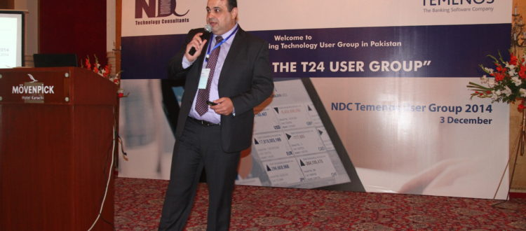 fba41d94b6e8 PRIME CTS CEO speaks at NDC TEMENOS User Group - Karachi